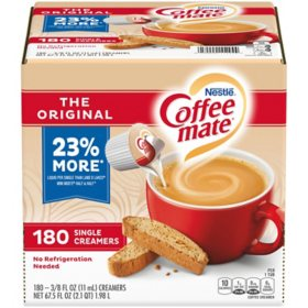 Coffee-mate The Orginial Liquid Creamer Singles (180 ct.)