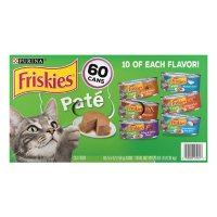 Purina Friskies Pate Wet Cat Food, Variety Pack (5.5 oz., 60 ct.)