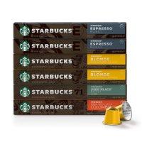 Starbucks by Nespresso Favorites, Variety Pack (60 ct.)