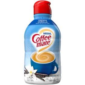 Nestle Coffee-mate Liquid Creamer, French Vanilla (64 oz.)