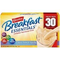 Carnation Breakfast Essentials Nutritional Drink Mix, Vanilla (30 ct.)