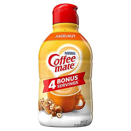 Coffee mate Hazelnut Liquid Coffee Creamer (66 fl. oz.)