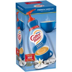 Nestle Coffee-mate Liquid Creamer Pump, French Vanilla (1.5 L)