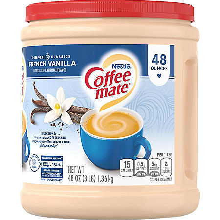 Coffee mate French Vanilla Powder Coffee Creamer (48 oz.)