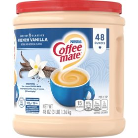 Nestle Coffee-mate Powder, French Vanilla (48 oz.)