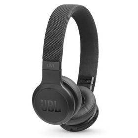 JBL LIVE 400BT On-Ear Wireless Headphones