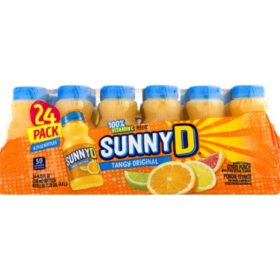 SunnyD Tangy Original Orange Flavored Citrus Punch (6.75 fl. oz. bottle, 24 pk.)