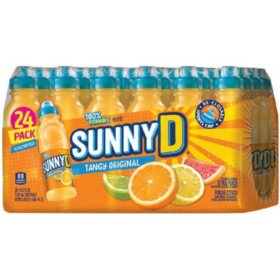 SunnyD Tangy Original Orange Flavored Citrus Punch (11.3 oz., 24 pk.)