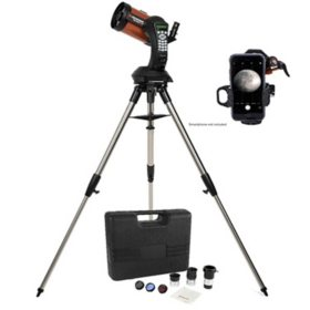 Celestron NexStar 5SE Computerized Telescope with Observer Kit and NexYZ Smartphone Adapter