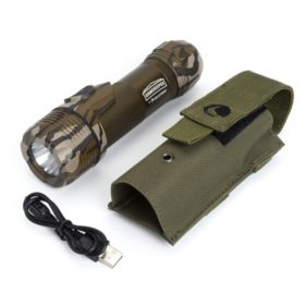 Celestron GameKeeper Thermotorch 5: 3-in-1 Tactical Flashlight, Hand Warmer and Portable Power Bank