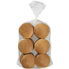 "RAINBO 5"" Hamburger Buns, 12 Count"