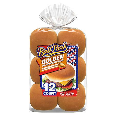 Ball Park Golden Hamburger Buns (23 oz., 12 ct.)