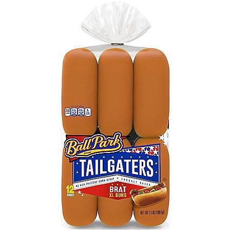 Ball Park Tailgaters Brat Buns (12pk)