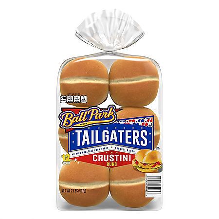 Ball Park Tailgaters Crustini Buns (12pk)