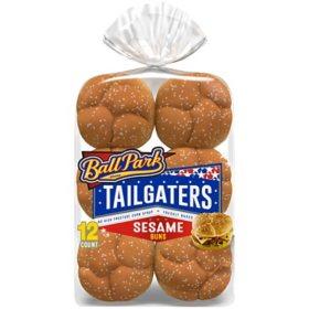 Ball Park Tailgaters Sesame Buns (12pk)