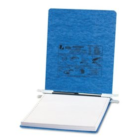 """ACCO Presstex Recycled Data Binder w/ Hooks, 9.5"""" x 11, Select Color"""