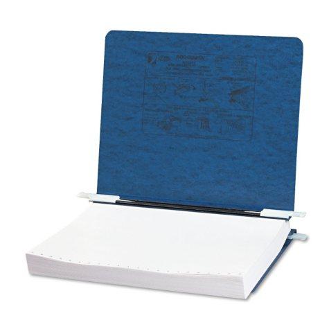 """ACCO Presstex Recycled Data Binder w/ Hooks, 8.5"""" x 11, Dark Blue"""