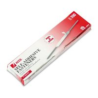 """ACCO - Self-Adhesive Paper File Fasteners, 2"""" - 100 Count"""