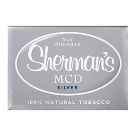 Nat Sherman  MCD  Silver 1 Carton