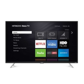 "Hitachi 50"" Class 4K UltraHD HDR Roku TV - 50R81"