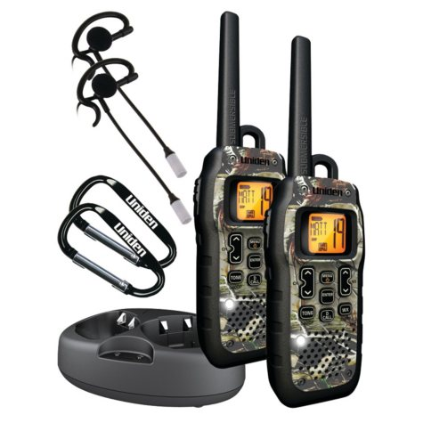 Uniden 50-Mile Submersible Radio - 2 Pack