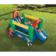 Little Tikes Jump-N-Double Slide Bouncer