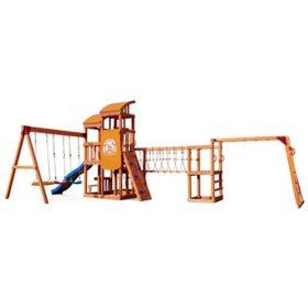 Little Tikes Real Wood Adventures Bobcat Ridge Playset
