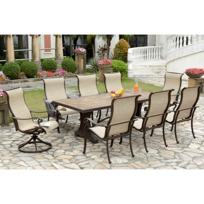 outdoor furniture sets for the patio sam s club rh samsclub com Costco Patio Furniture Patio Set