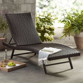 Excellent Members Mark Agio Heritage Chaise Lounge Chair Sams Club Unemploymentrelief Wooden Chair Designs For Living Room Unemploymentrelieforg