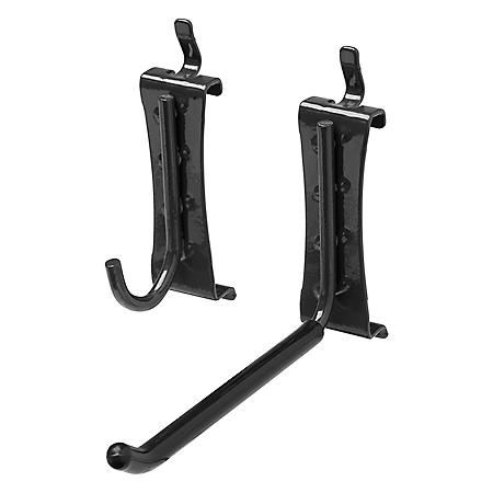 Gladiator J and L Garage Hooks for GearTrack or GearWall (8-Pack)