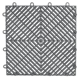 Gladiator Drain Tile Flooring (4 ct.) - Multiple Colors Available