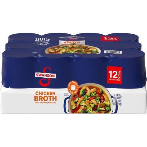 Swanson Chicken Broth (14 oz., 12 ct.)