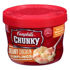 Campbell's Chunky Creamy Chicken & Dumplings Soup (15.25 oz., 8 ct.)