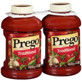 Prego Traditional Italian Sauce (67 oz., 2 pk.)