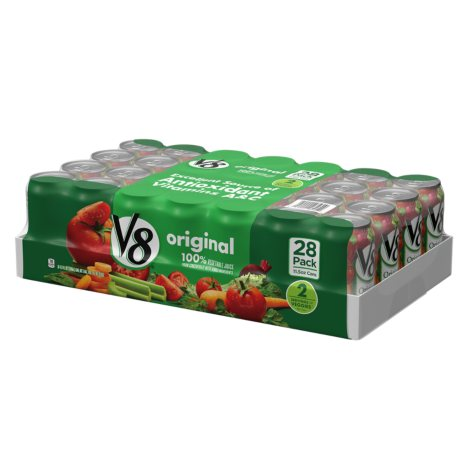 V8 Original Vegetable Juice (11.5 oz. cans, 28 ct.)