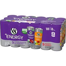 V8 V-Fusion Energy Variety Pack (8 fl. oz., 18 ct.)