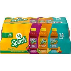 V8 Splash Variety Pack (12 oz., 18 pk.)