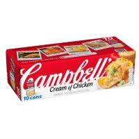 Campbell's Condensed Cream of Chicken Soup (10.5 oz., 10 pk.)