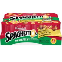 Campbell's SpaghettiOsCanned Pasta with Meatballs (15.6 oz., 12 pk.)