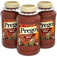 Prego Italian Flavored Meat Sauce (45 oz., 3 pk.)