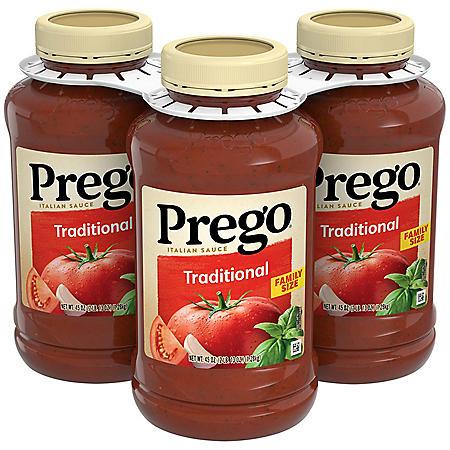 Prego Traditional Italian Sauce (45 oz., 3 pk.)