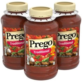 Prego Traditional Italian Sauce (45 oz., 3 pk.)