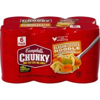 Campbell's Chunky Classic Chicken Noodle Soup (18.6 oz., 6 pk.)