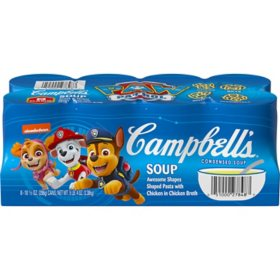 Campbell's Condensed Kids Soup, Nickelodeon Paw Patrol (10.5 oz., 8 pk.)