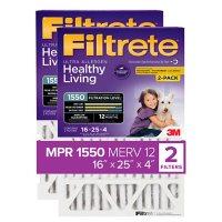"Filtrete Allergen Reduction Filter for 4"" Housings (2 Pack)"