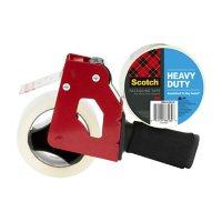"""Scotch Heavy Duty Shipping Tape Dispenser w/ 2 Rolls of Tape, 1.88"""" x 60.15 yds"""