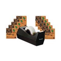 """Scotch - Magic Greener Tape, 3/4"""" x 900"""", 1"""" Core -  10/Pack"""