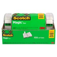 Deals on 6-Pack Scotch Magic Tape w/ Refillable Dispenser