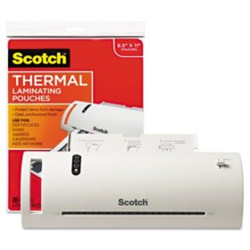 Scotch Thermal Laminator Value Pack (Letter)