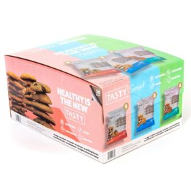 Tasty Smart Cookies Three Flavor Variety Assortment (14 ct.)